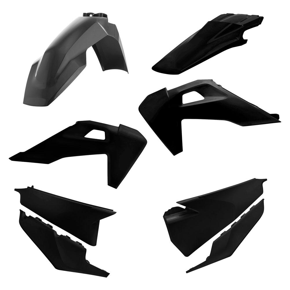 Acerbis 2449630001 Plastic Kit Black
